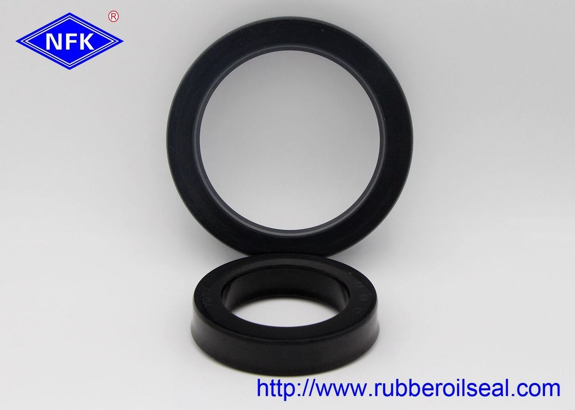 NBR Rod Hydraulic Rubber Piston Seals Medium Sliding Resistant CU0514-D0 UPH