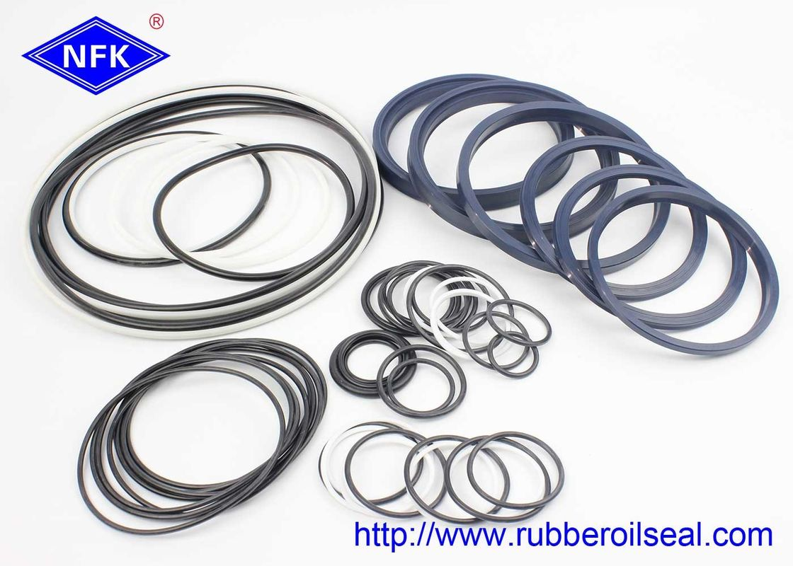 High Pressure Hydraulic Motor Seal Kit MSB600 Double / Single Acting 0.3-0.8m/s Speed
